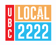UBC Local 2222 logo