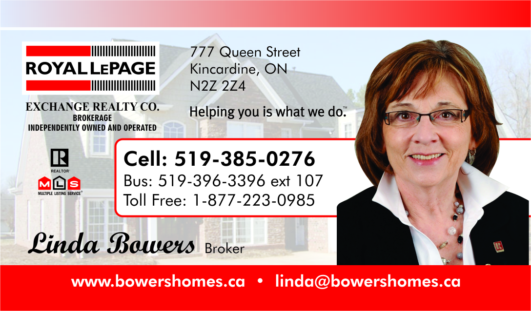 Linda Bowers, Broker with Royal LePage Exchange Realty Co.Brokerage image 0